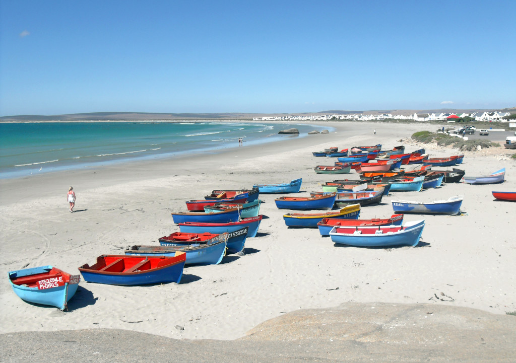 The look of the beach near Paternoster, every day