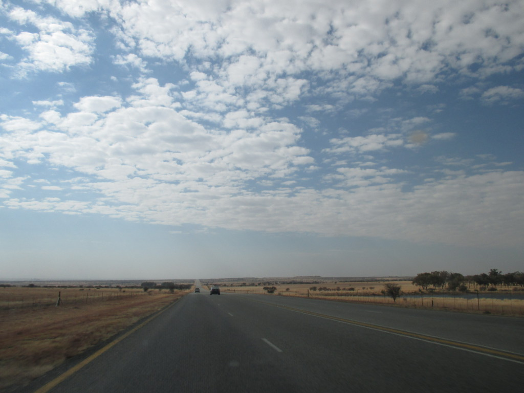 The flat Free State in all of its beauty
