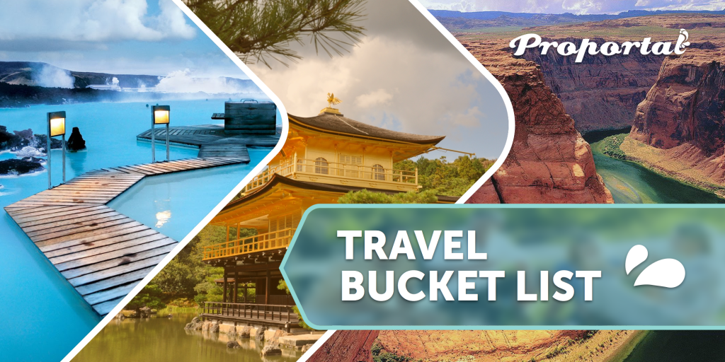 Travel Bucket list (header)