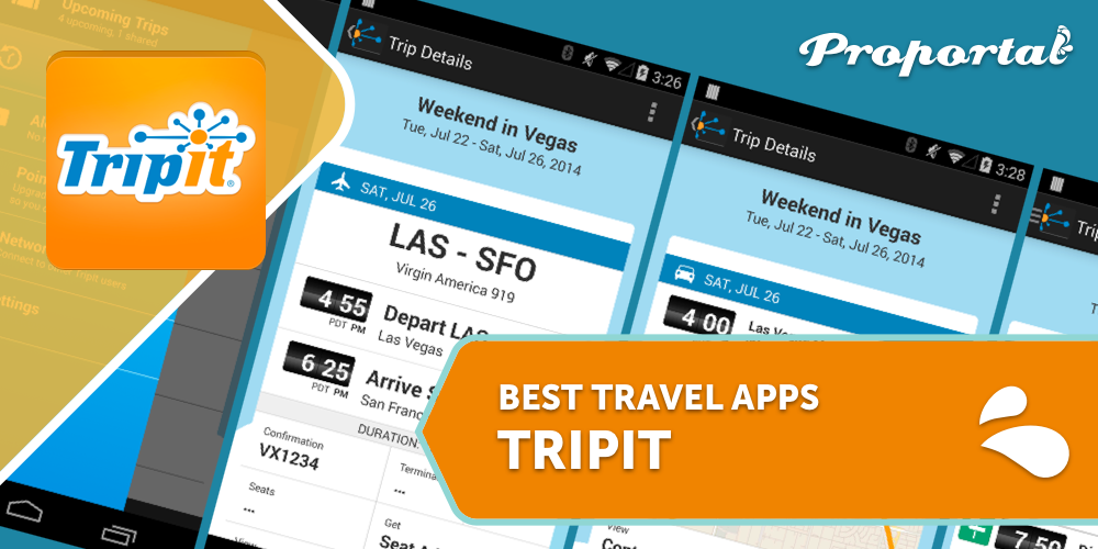 2 Tripit, Best Travel Apps