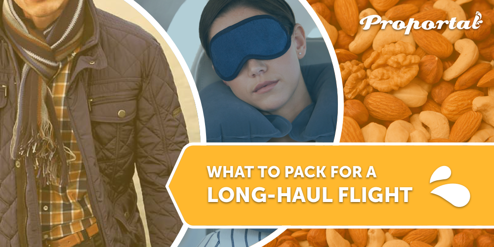 What to Pack for a Long-Haul Flight