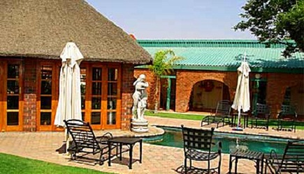 au jardin guest house in welkom aa travel