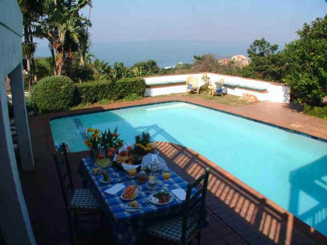 Comfort House - View From Balcony, Verandah.