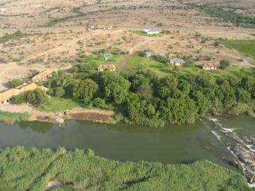 Aerial View Of Oranjerus Resort