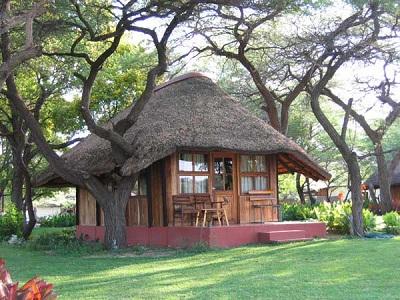 Exterior View Of Luxury Bungalow