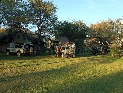 Campsite At Hakusembe River Lodge
