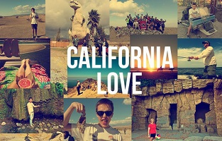 View holiday package : Postcards of California, USA