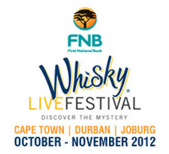 Joburg Tourism - FNB Whisky Live Festival Cape Town, South Africa