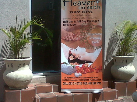 Heaven On Earth Day Spa Contact Details