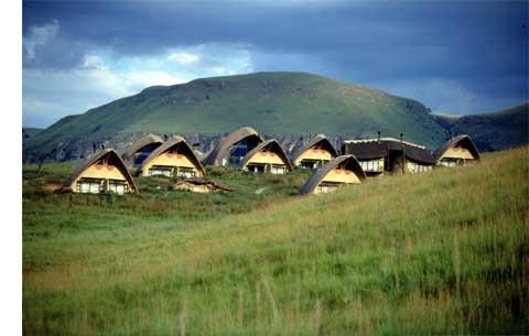 Didima Camp In Cathedral Peak Proportal