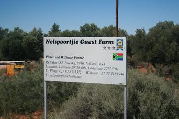 Nelspoortjie Karoo Guest Farm in Prieska